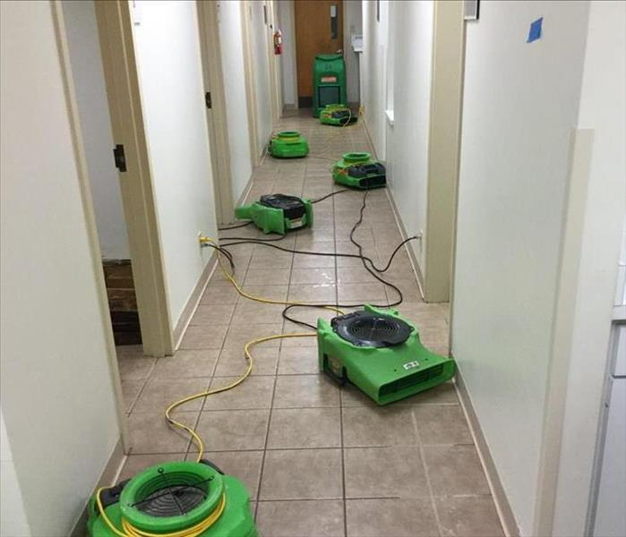 Water Damage in Medical Facility After