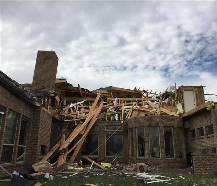 Tornado Destroys Home