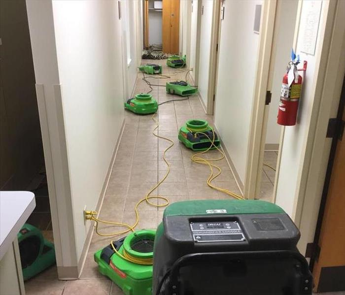 Water Damage in Medical Office